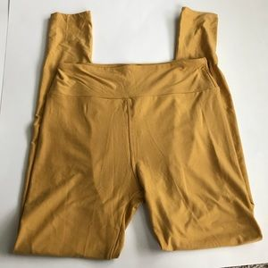 Lularoe mustard leggings
